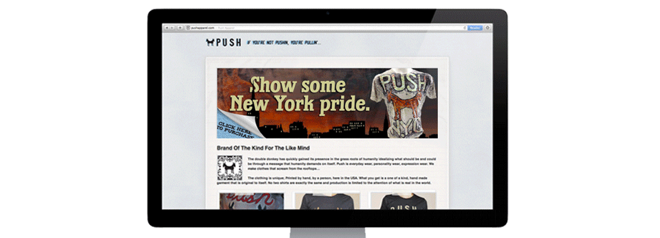 Push Apparel Website