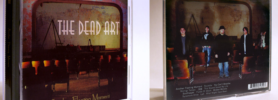 The Dead Art CD Packaging