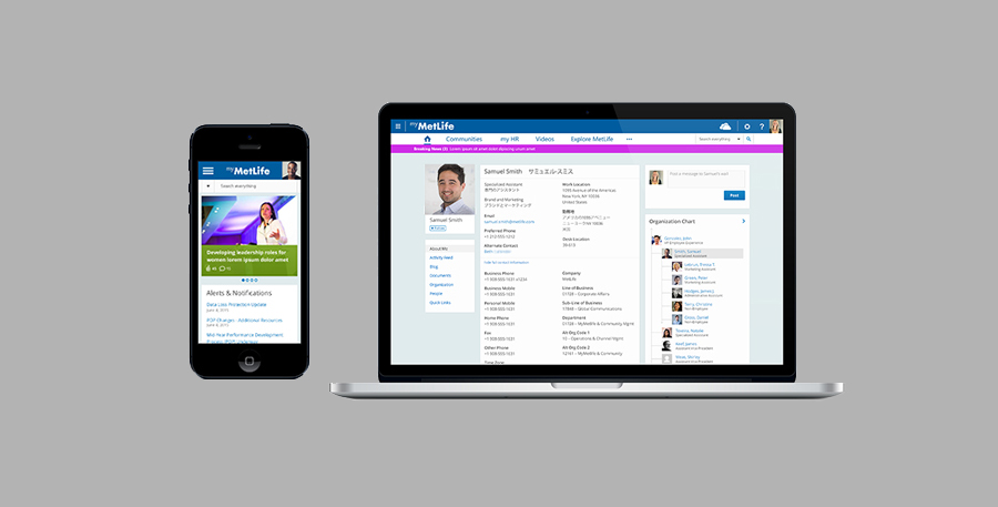 MetLife Global Intranet Redesign