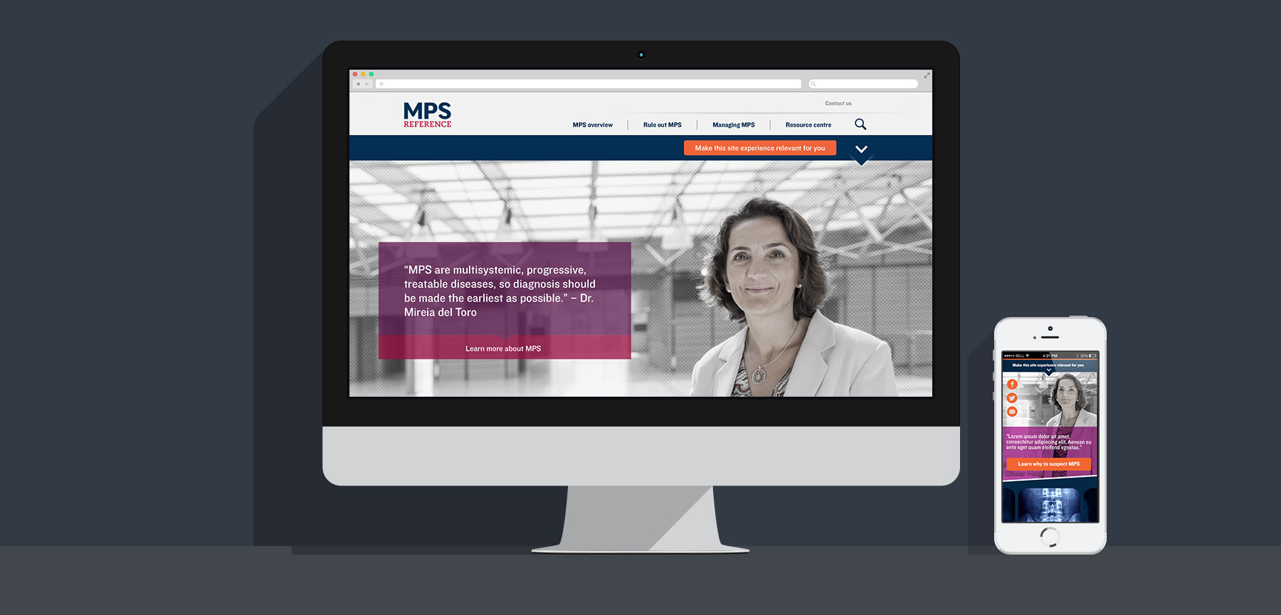 MPS Reference website